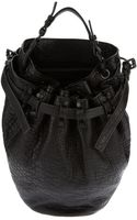 Alexander Wang Diego Studded Bucket Bag - Lyst
