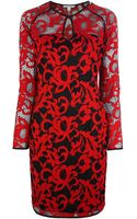 Diane Von Furstenberg Gadie Dress - Lyst