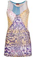 Missoni Printed Sleeveless Top - Lyst