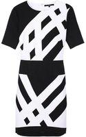 Tibi Transit Short Sleeve Dress - Lyst