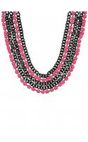 Adia Kibur Chain and Stone Necklace - Lyst