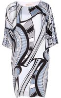 Emilio Pucci Silk Dress - Lyst