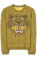 Kenzo Embroidered Tiger Pullover - Lyst