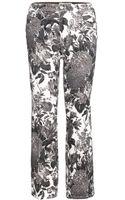 Stella McCartney Print Skinny Jeans - Lyst