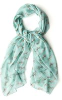 ModCloth Be in The Present Scarf - Lyst