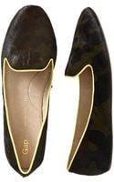 Gap Calf Hair Loafers - Lyst