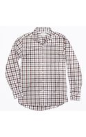 Ovadia And Sons Bedford Gingham Flannel Shirt - Lyst