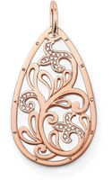 Thomas Sabo Special Addition Large Teardrop Pendant - Lyst