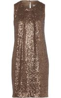 Untold Sequin Shift Dress - Lyst