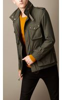 Burberry Technical Canvas Field Jacket - Lyst