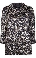 Giambattista Valli Leopard Print Coat - Lyst