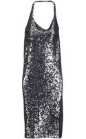 Donna Karan New York Short Dress - Lyst