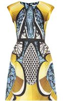 Peter Pilotto Alexa Silk Jacquard Dress - Lyst