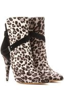 Tabitha Simmons Hunter Haircalf Ankle Boots - Lyst