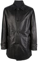 Ermenegildo Zegna Classic Leather Jacket - Lyst