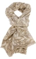 Faliero Sarti Embroidered Scarf - Lyst