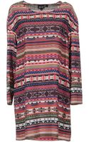 Just Cavalli Short Dress - Lyst
