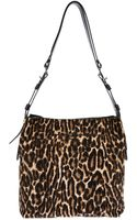 Lanvin Leopard Print Shoulder Bag - Lyst