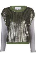 3.1 Phillip Lim Sequin Sweater - Lyst
