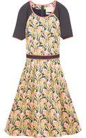 Jason Wu Floral Scuba Dress - Lyst