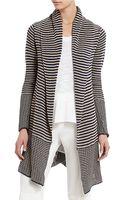 BCBGMAXAZRIA Watson Striped Cardigan - Lyst