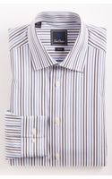 David Donahue Trim Fit Dress Shirt - Lyst