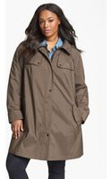 Gallery A-line Hooded Walking Coat - Lyst