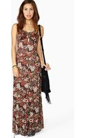 Nasty Gal Wild in The Woods Maxi Dress - Lyst
