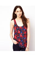 French connection Top in Floral Print - Lyst