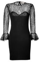 Emilio Pucci Woollace Dress - Lyst