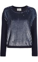 3.1 Phillip Lim Sequin Embellished Sweater - Lyst