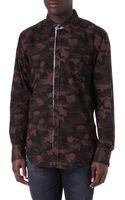 Hugo Boss Camo Shirt - Lyst