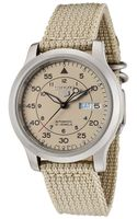 Seiko Mens 5 Automatic Beige Fabric Seikosnk803k2 Watch - Lyst