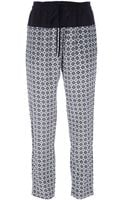 Vanessa Bruno Athé Printed Trouser - Lyst