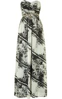 Little Mistress Print Maxi Dress - Lyst