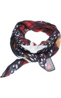 Givenchy Checked Scarf - Lyst