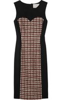 Jason Wu Tweed and Gabardine Dress - Lyst