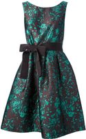 P.a.r.o.s.h. Floral Brocade Sleeveless Dress - Lyst