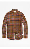 French connection Kondrad Check Shirt - Lyst