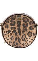 Dolce & Gabbana Leopard Print Bag - Lyst
