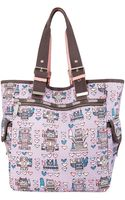 Lesportsac Artist in Residence Triple Tote - Lyst