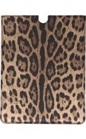 Dolce & Gabbana Leopard Print Ipad Case - Lyst