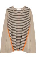 Duffy Striped Wool and Cashmereblend Sweater - Lyst