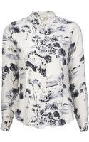 Giada Forte Button Down Shirt - Lyst