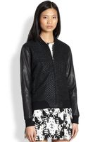 Bec & Bridge Patterned Lurex Jacket - Lyst