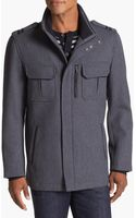 Cole Haan Italian Twill Military Jacket - Lyst