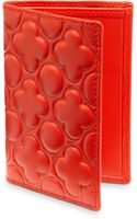 Comme Des Garçons Embossed Leather Card Case - Lyst