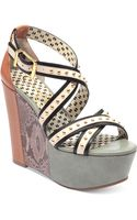 Jessica Simpson Georg Platform Wedge Sandals - Lyst
