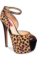 Betsey Johnson Leanah Platform Pumps - Lyst