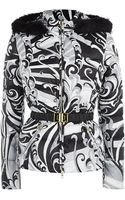 Emilio Pucci Singapore Print Quilted Jacket - Lyst